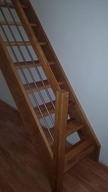 Stopnice za podstrešje -ravne