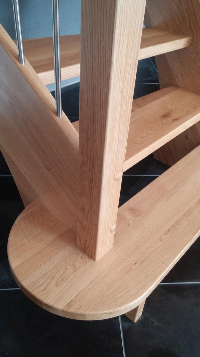Detalj lesenega stopnišča