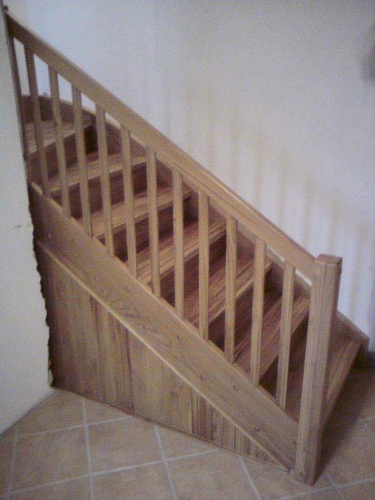 Klasične lesene stopnice