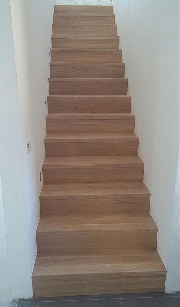 Lesena obloga stopnišča