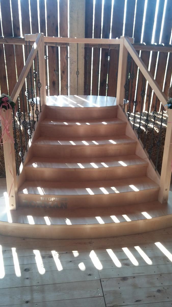 Lesene vhodne stopnice