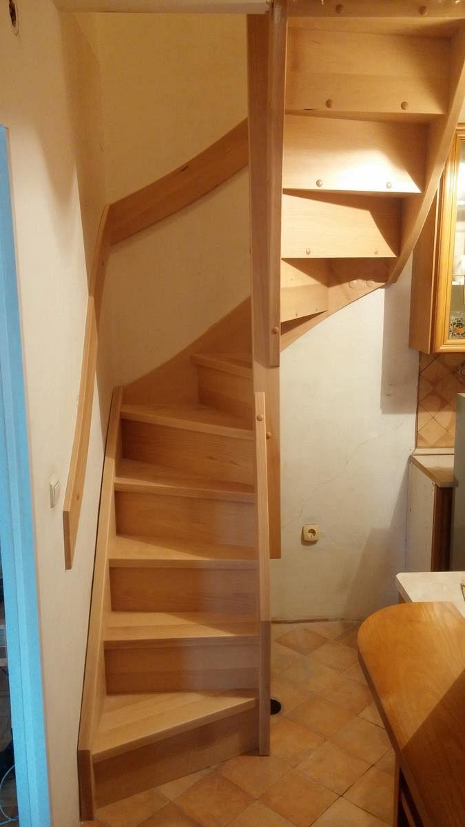 Stopnice za dostop do mansarde