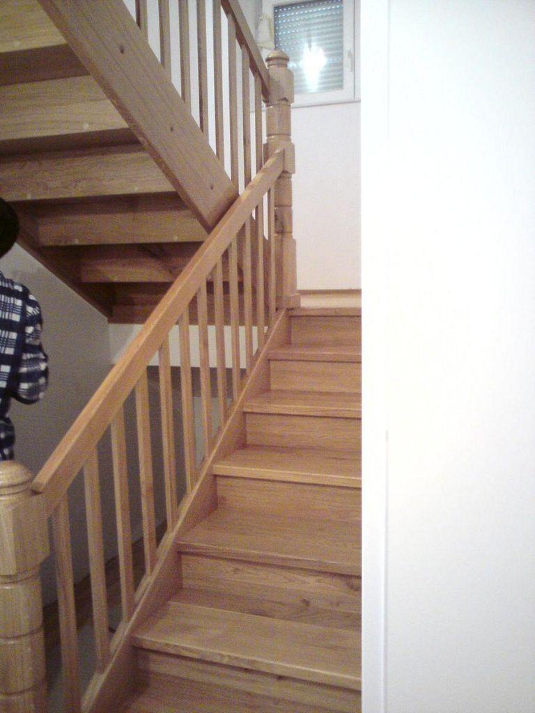 Moderne lesene stopnice