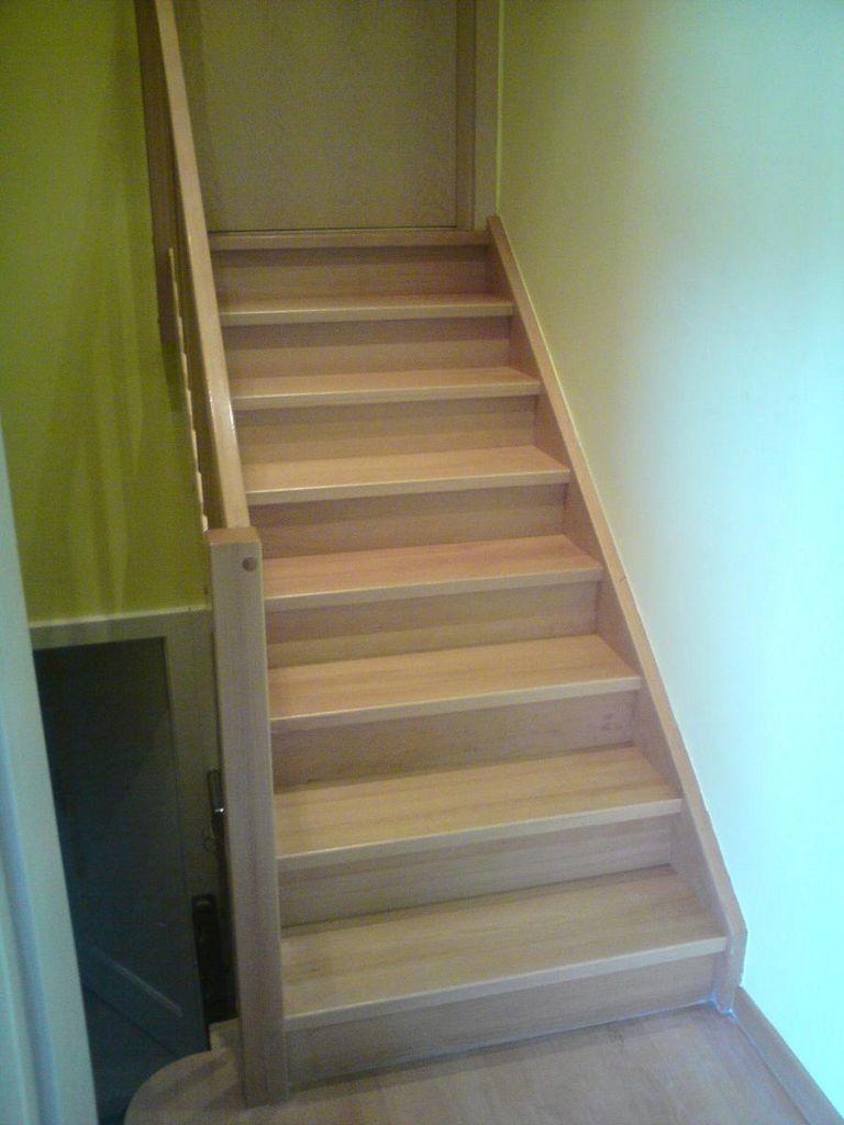 Lesena obloga stopnic